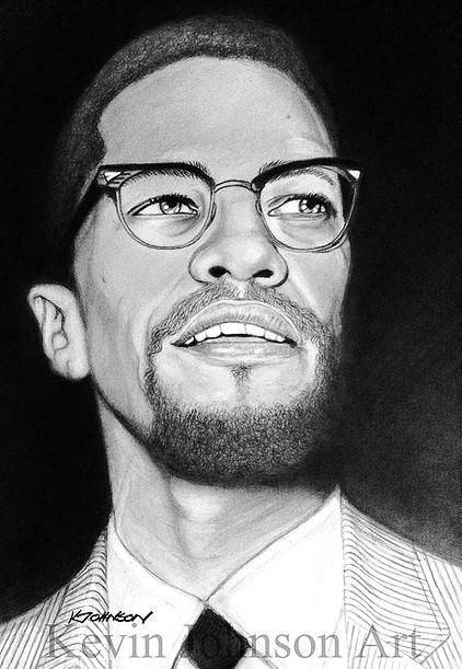 Malcolm X par CAPP